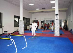 Zagrijavanje za taekwondo